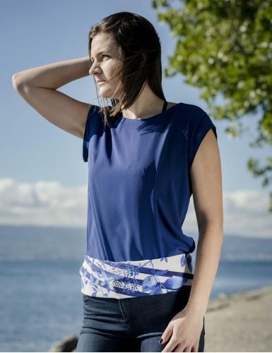 Foulard magique Bréhat bleu - belt