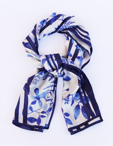 Foulard magique Bréhat bleu - pack