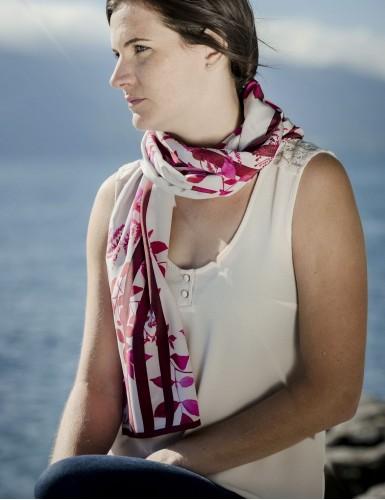 Foulard magique Bréhat rouge - neck