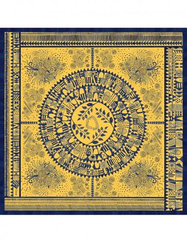 Dobreć yellow scarf 90 - front