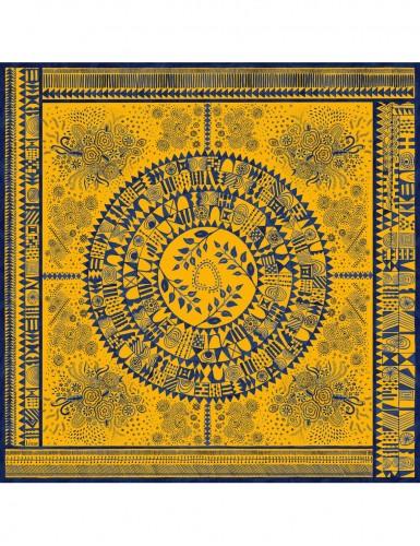 Dobreć yellow scarf 43 - front