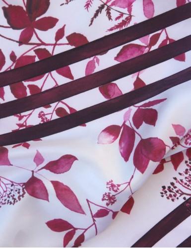 Foulard magique Bréhat rouge - detail