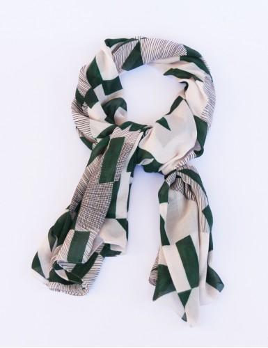 Étole Santorin vert - pack