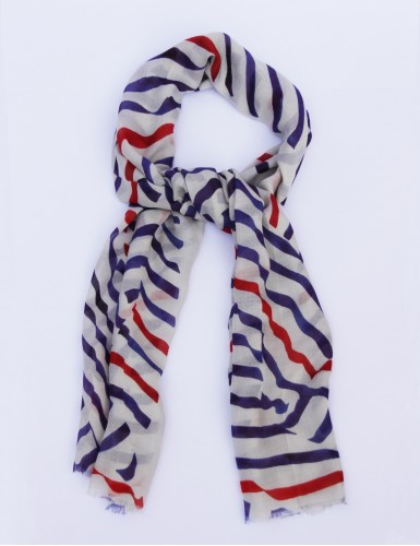 Foulard homme Carnac tricolore - pack