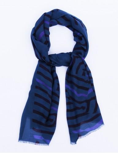 Foulard homme Carnac fond bleu - pack